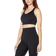 WVVYPower Core Knit Pop Seam Strappy Sports Bra