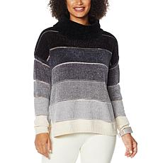 WynneLayers Chenille Cowl-Neck Sweater