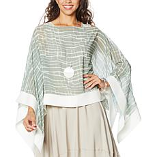WynneLayers Convertible Printed Poncho