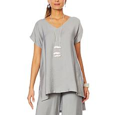 WynneLayers High-Low Sleeveless Malibu Tunic