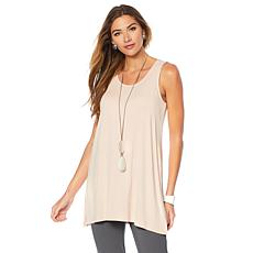 WynneLayers Jersey Knit Sleeveless Top Tier Tunic