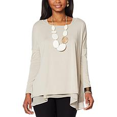 WynneLayers Modal Blend Long Sleeve Pullover