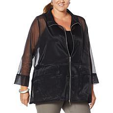WynneLayers Organza Jacket