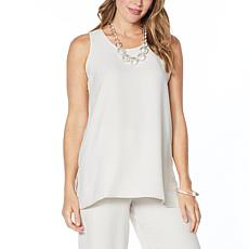 WynneLayers Reversible Satin Back Crepe Tank