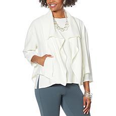 WynneLayers Sedona Jacket with Drawstring Collar