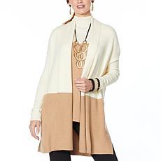 WynneLayers Soft Knit Colorblocked Cardigan