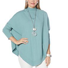 WynneLayers SoftKNIT Poncho Sweater