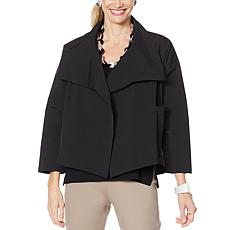 WynneLayers Wide Collar Boxy Jacket