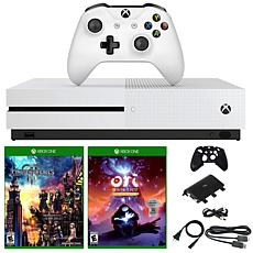 """Xbox One S 1TB Console with """"Kingdom Hearts III"""" and """"ORI"""" Games"""