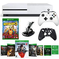 Xbox One S 1TB Gears 5 Console with Borderlands 3 and Accessories