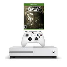 "Xbox One S 4K 1TB Game Console with ""Fallout 4"" Game and Accessories"