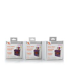 Xyron® 3 Sticker Maker 3-pack with 60' of Adhesive