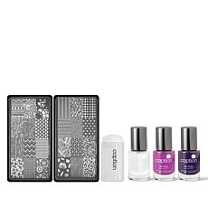 Young Nails Lacquer Kit with Art Screens -Escape Artist