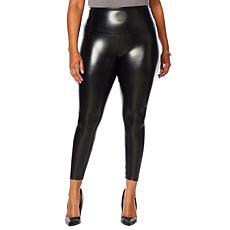 Yummie Faux Leather Legging