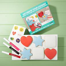 Yummy Art 6-pack Thank You Cookie Decorating Kit