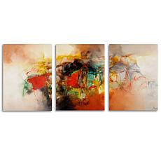 Zavaleta 'Abstract VI' Multi-Panel Art Collection