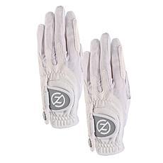 Zero Friction Ladies Performance Universal-Fit Golf Glove 2-Pack