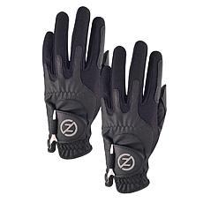Zero Friction Men's Performance Universal-Fit Golf Glove 2-Pack