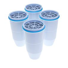 ZeroWater® Ion Exchange Replacement Filters 4-pack