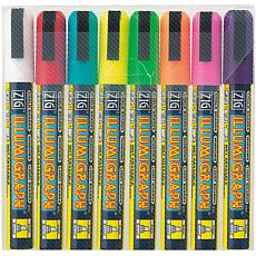 Zig Illumigraph Broad Tip Markers 8-pack