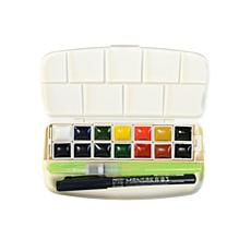 Zig Transparent Pan Watercolor Set - 14 Colors