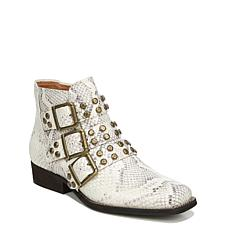 Zodiac Adele Suede or Leather Buckled Moto Bootie
