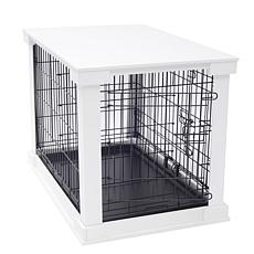 zoovilla Large Cage with Crate Cover - White