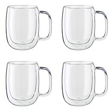 ZWILLING Sorrento Plus 12-Ounce Coffee Mugs 4-pack