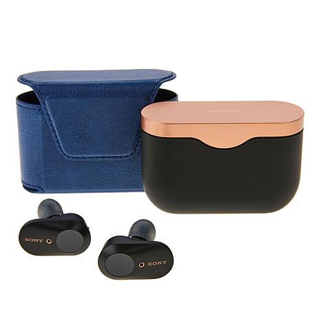 Deals on Sony Truly Wireless Noise Cancelling Earbuds w/Leather Case & Voucher