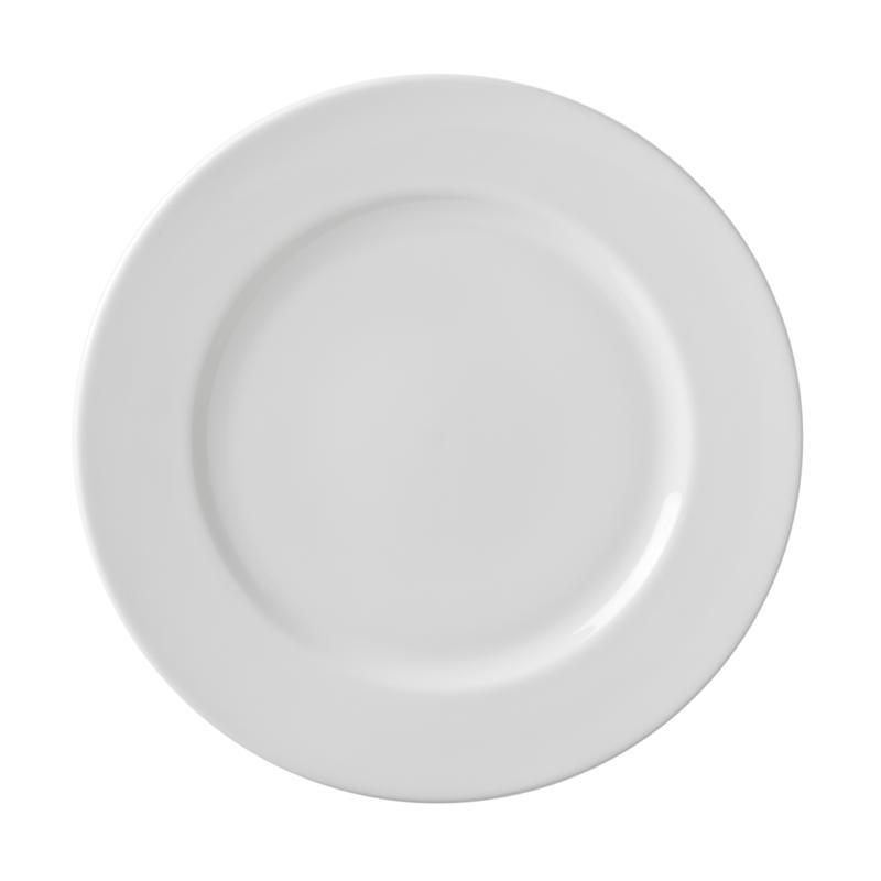 """10 Strawberry St White 10.75"""" Dinner Plate - 6"""