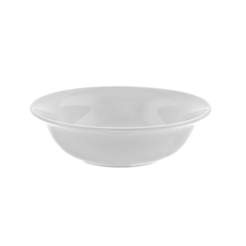 "10 Strawberry St White 6.5"" 12 oz. Cereal Bowl - 6"