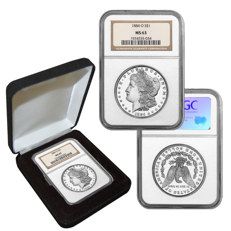 1884-O MS63 NGC Morgan Silver Dollar