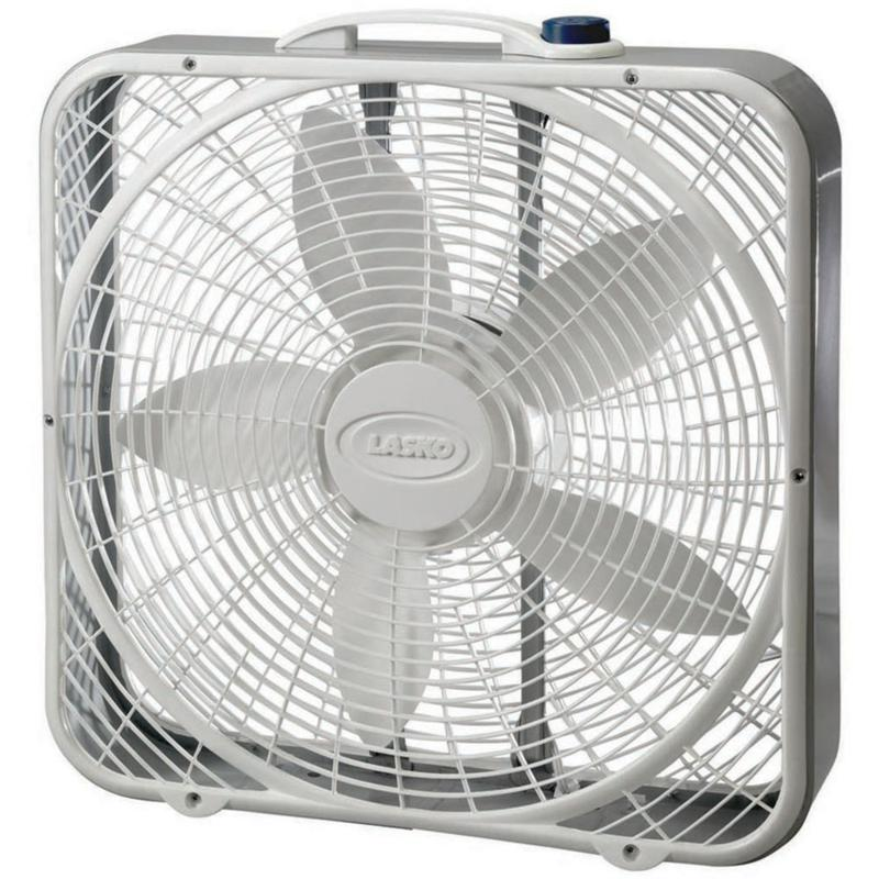 20 In. Premium Box Fan with Wind Ring