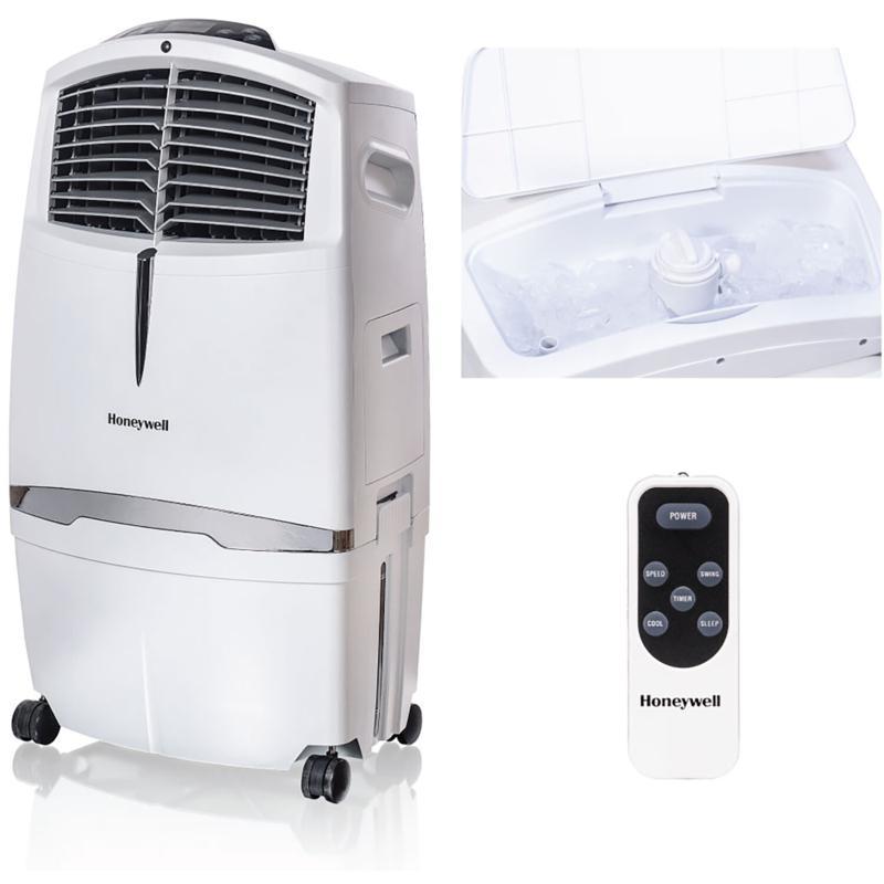525 CFM Indoor Evaporative Air Cooler (Swamp Cooler) with Remote