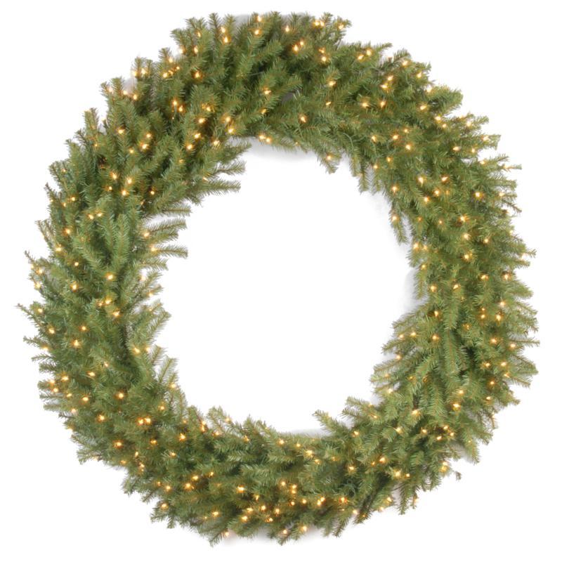 """60"""" Norwood Fir Wreath w/Lights"""
