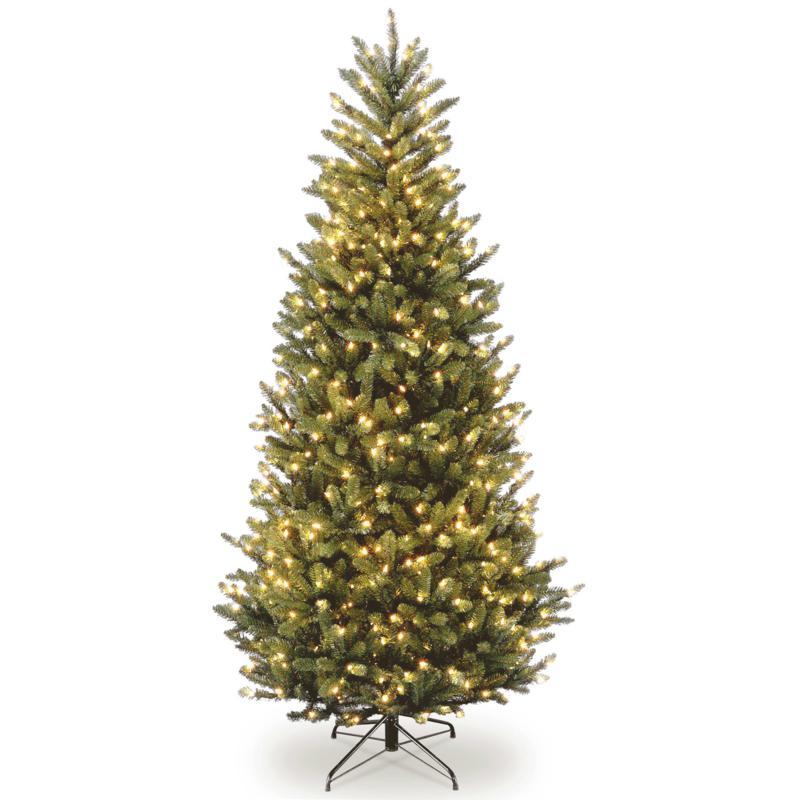 7-1/2' Natural Fraser Slim Tree w/Lights