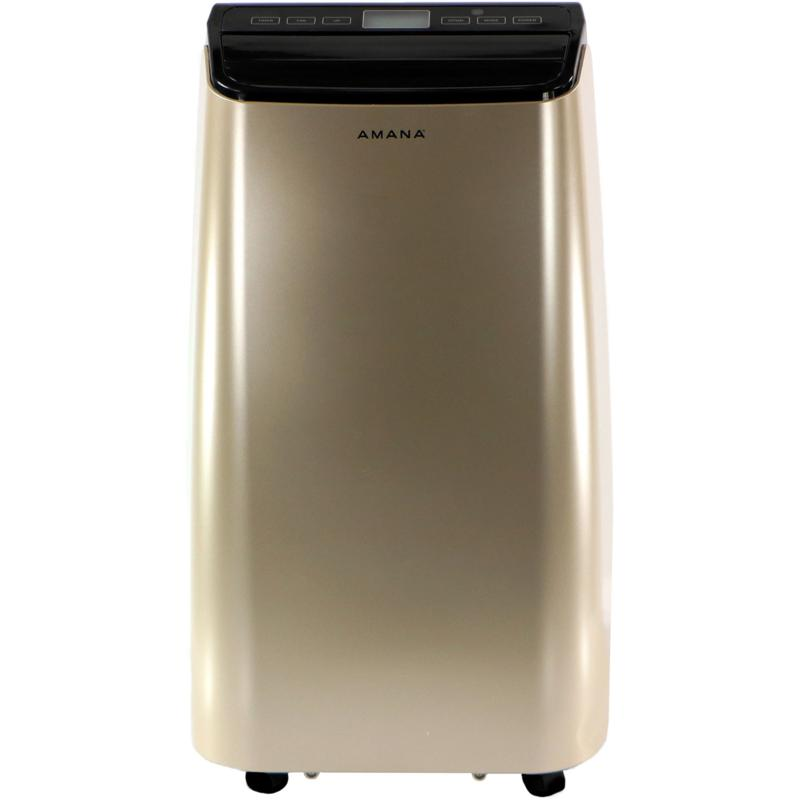 Amana Gold/Black 12,000 BTU Portable Air Conditioner w/Remote Control