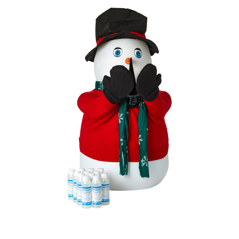 Amazing Snowman Automatic Snow Show with Evaporative Snow 12-pack