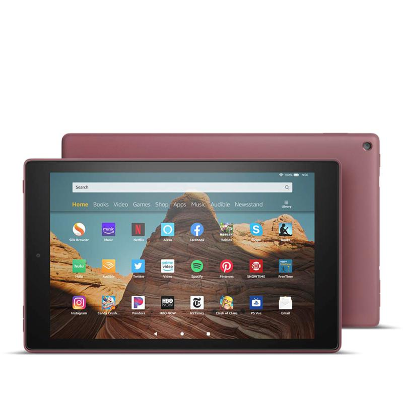 """Amazon Fire HD 10"""" 32GB Tablet with 2 Vouchers"""