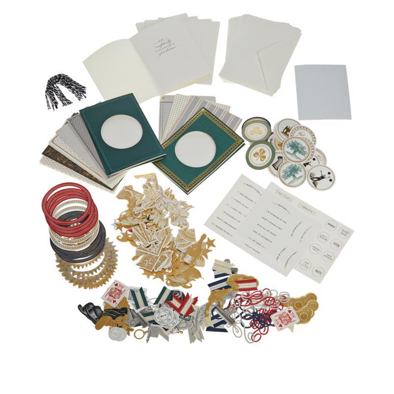 "Anna Griffin® ""Handsome"" Spinner Card-Making Kit"