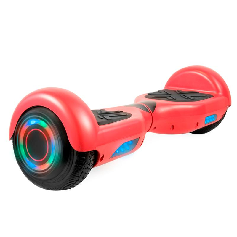 AOB Hoverboard with Bluetooth Speakers - Red