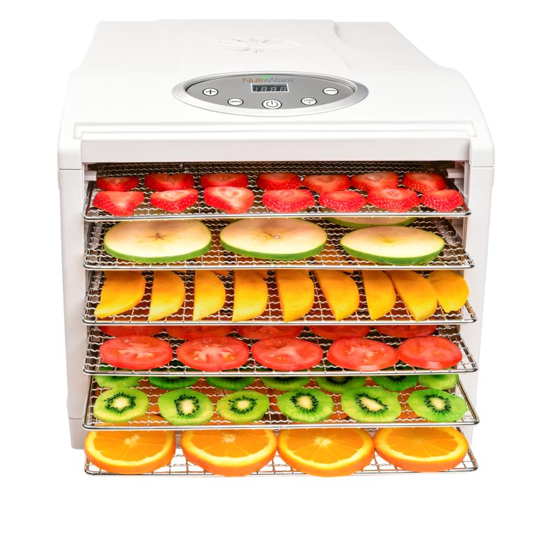 Aroma NutriWare 6-Tray Extra-Large Food Dehydrator