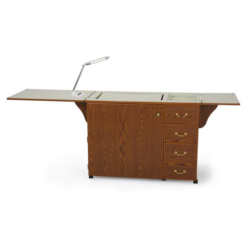 Arrow Norma Jean Sewing Cabinet with Bonus Daylight D40 Lamp