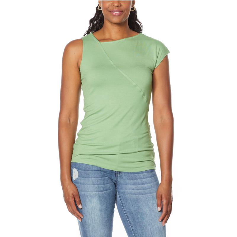"""""""As Is"""" Brittany  Humble One-Sleeve Tank Top"""