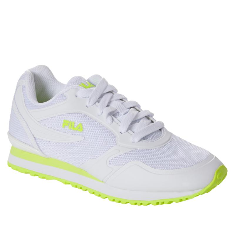 """As Is"" FILA Forerunner 18 Nylon Mesh Athletic Sneaker"