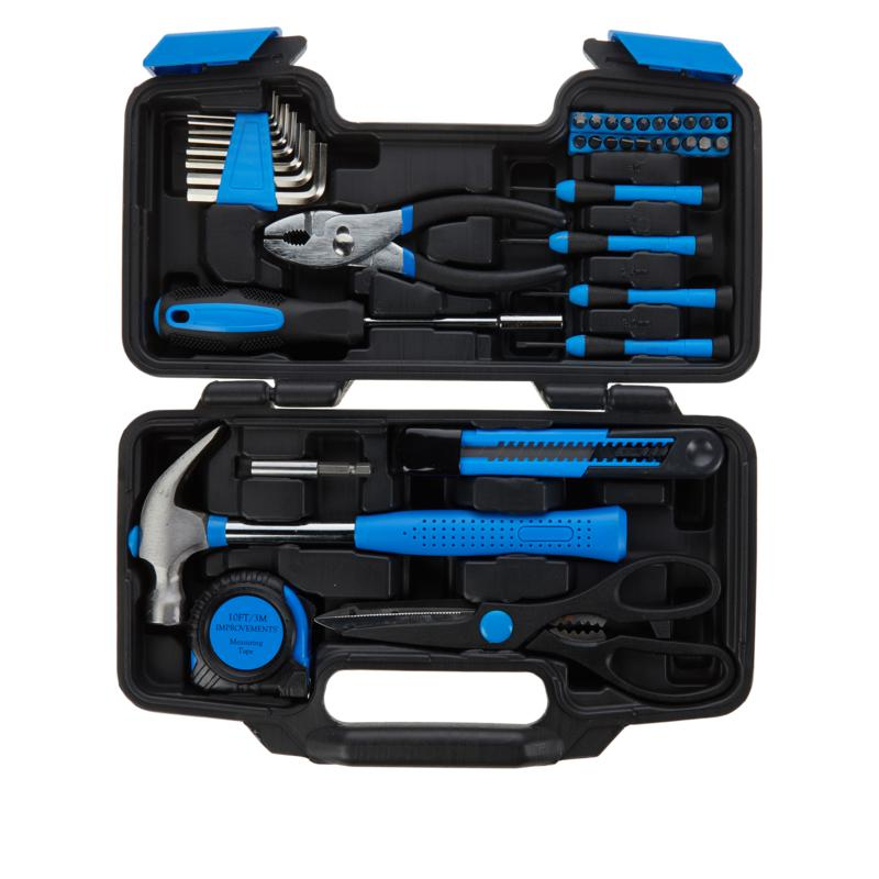 """""""As Is"""" Improvements 39-piece Tool Set with Carrying Case"""