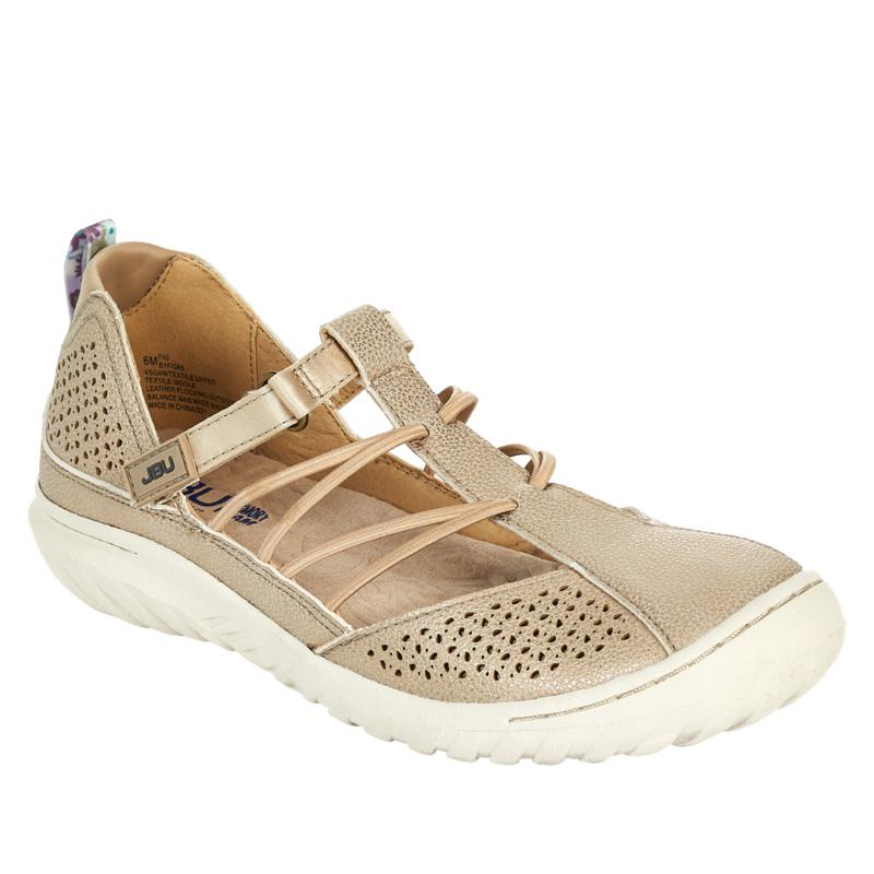 """""""As Is"""" JBU by Jambu Fig Casual Perforated Slip-On Shoe"""
