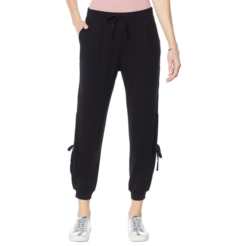 """""""As Is"""" WVVY French Terry Side Tie Jogger Pant"""