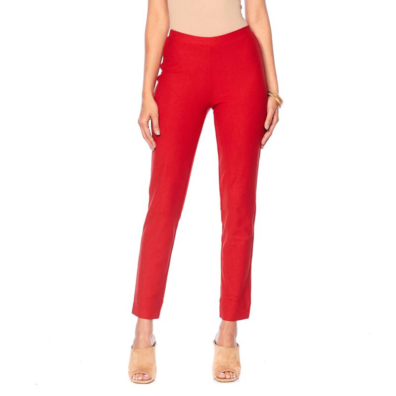 """""""As Is"""" WynneLayers Essential Crepe Full-Length Pant"""