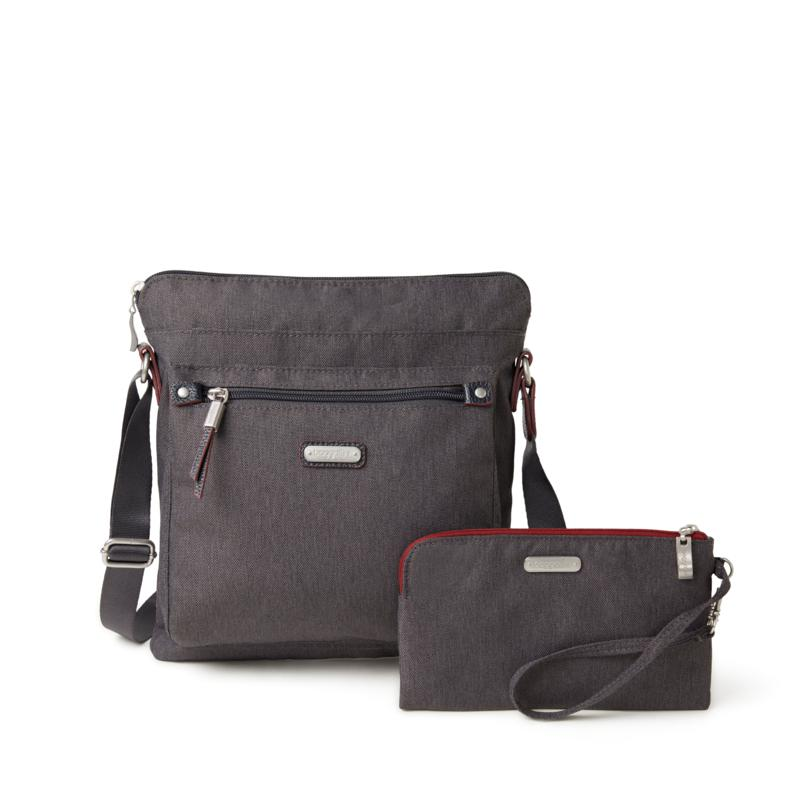 Baggallini Go Bagg with RFID phone wristlet
